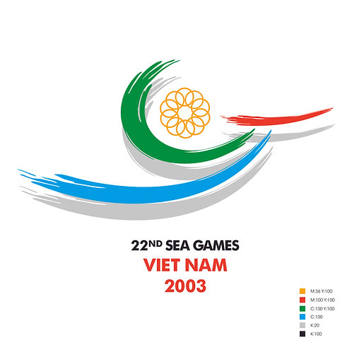 22nd SEA Games Logo Chim Lac Vector CDR Corel