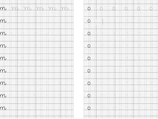 Mẫu vở luyện chữ cho học sinh lớp 1 (bản mềm gồm 2 quyển)