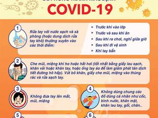 Những Việc Học Sinh Cần Làm Tại Trường Hàng Ngày File Vector Corel CDR