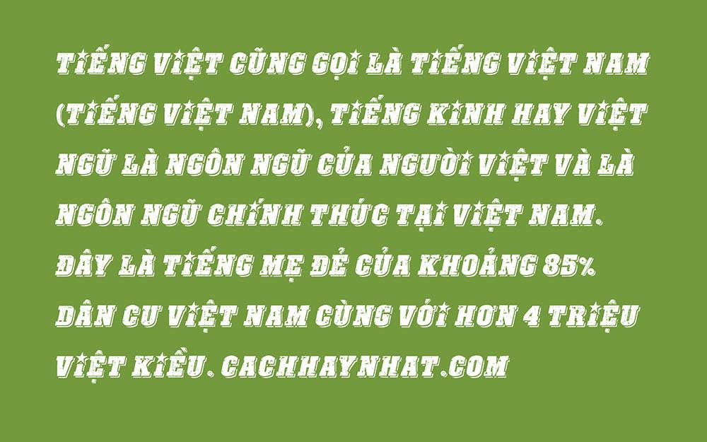 Font SVN-Revolution Việt Hóa