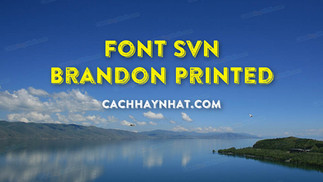 Download Font SVN-Brandon Printed Shadow Việt Hóa