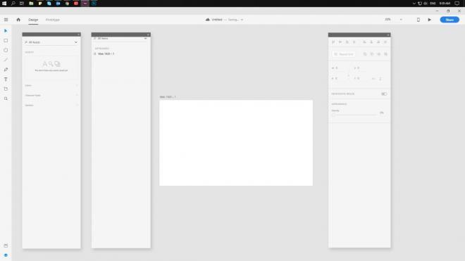 công cụ thiết kế web tốt nhất adobe xd