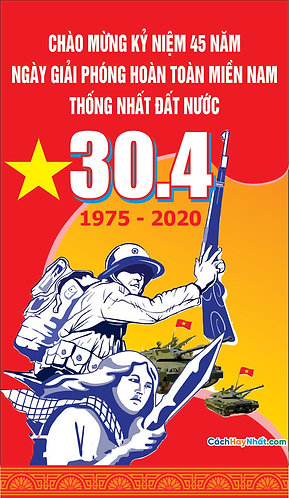 Pano Giải Phóng Miền Nam 30/4 - Pano Liberation Of The South 30/4