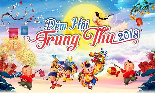 Tết Trung Thu Mid-Autumn Festival Vector Corel CDR 34