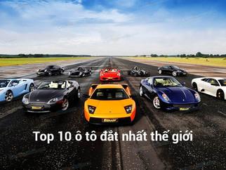 Top 10 Ô Tô Đắt Nhất Thế Giới
