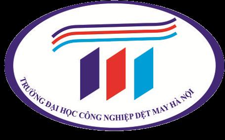 Logo Trường Đại học Công nghiệp Dệt may Hà Nội
