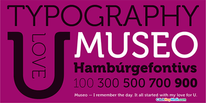 Download Free Font Museo