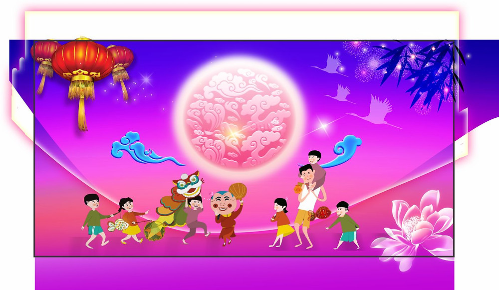 Background Phông Nền Trung Thu Vector Corel CDR Part22