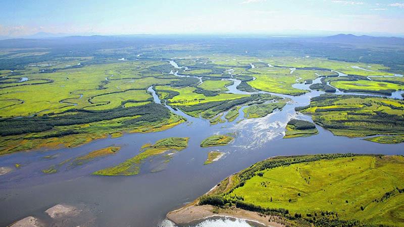 Sông Amur - 4,444 km
