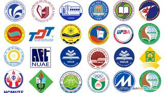 Tổng Hợp Logo Đại Học Chuyên Ngành Và Đa Ngành Vector CDR AI PDF PNG JPG Part04