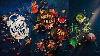 30 ý tưởng quảng cáo nghệ thuật ẩm thực tuyệt đẹp và thao tác chụp ảnh của Dina Belenko