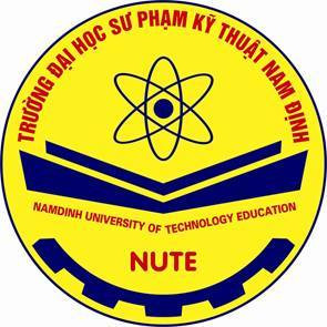 Logo Trường Đại học Sư phạm Kỹ thuật Nam Định