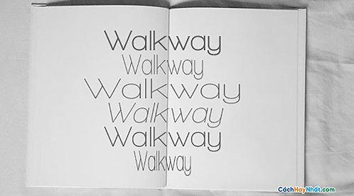 Font Walkway Download Free
