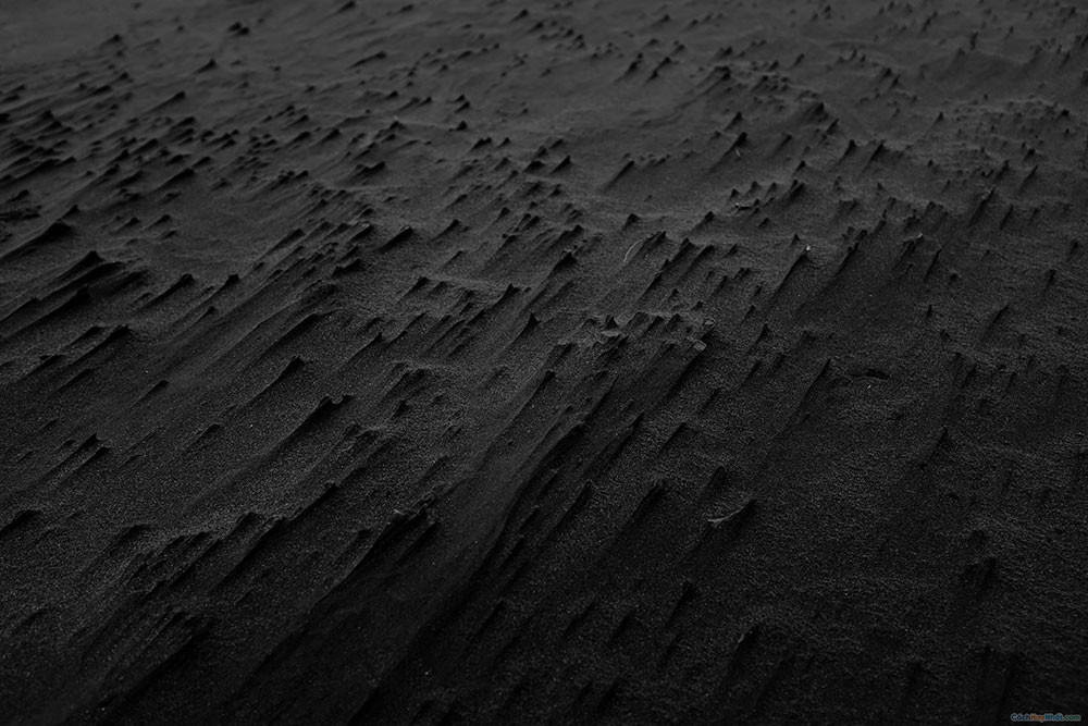 Nhiếp ảnh cát xám đen