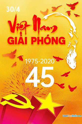 Áp phích giải phóng miền Nam 30/4 - Southern Liberation poster 30/4