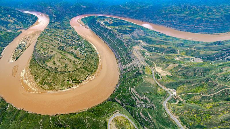 Sông Hoàng Hà - 5,464 km