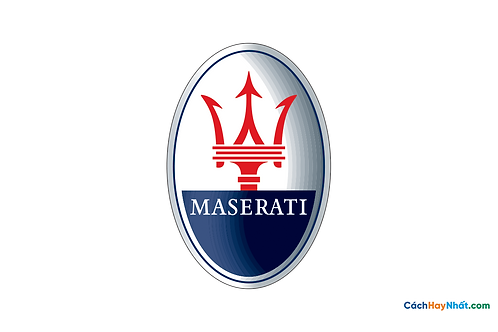 Logo Maserati 3D Vector PDF PNG