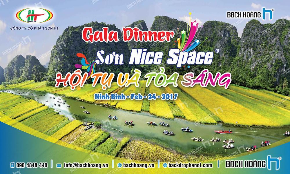Mẫu backdrop phông Gala Dinner, Team Building đẹp nhất 17