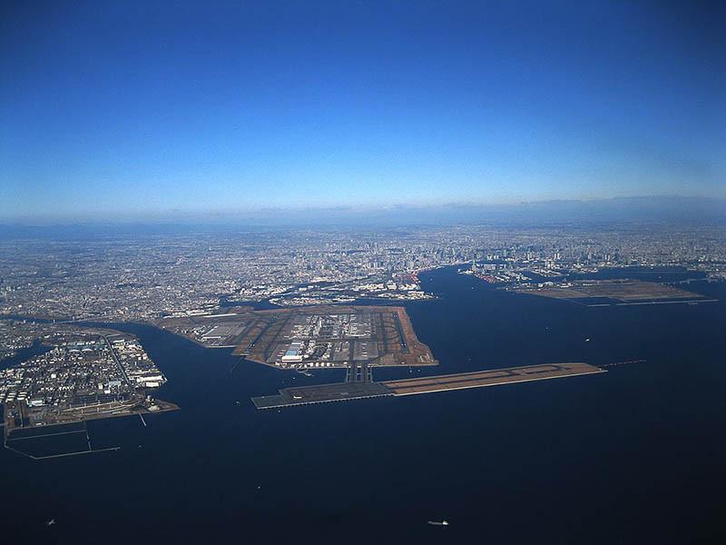 5. Sân bay Tokyo Haneda 85,5 triệu hành khách