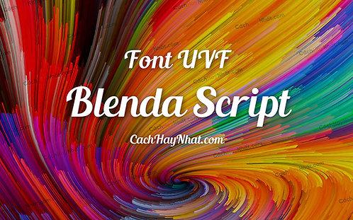 Download Font UVF Blenda Script Việt Hóa