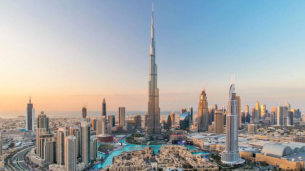 1. Burj Khalifa , tòa nhà cao nhất thế giới