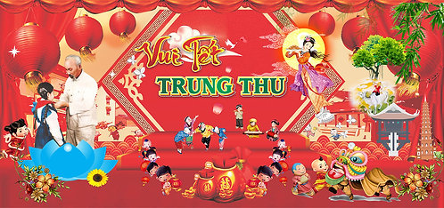Free Download Background Trung Thu Vector Corel CDR 86