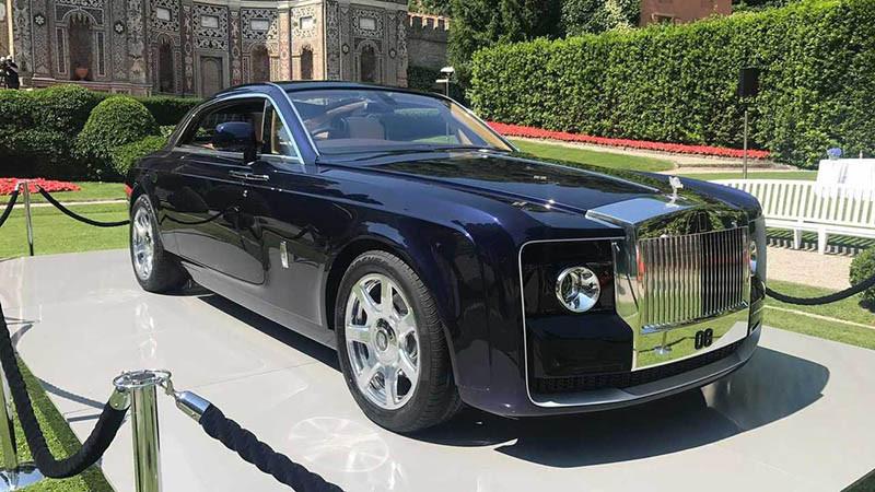 2. Rolls Royce Sweptail