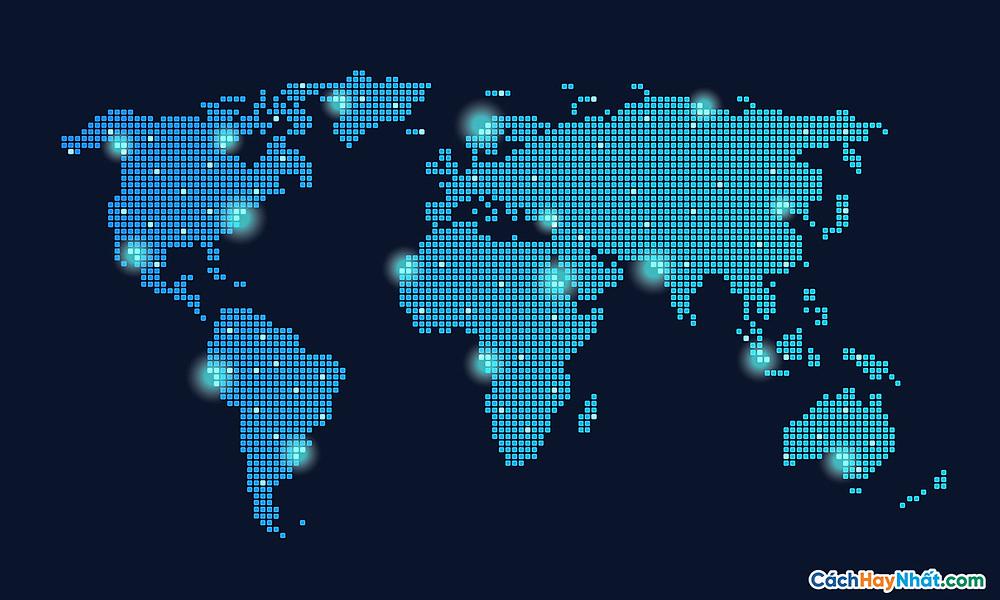 Bản Đồ Thế Giới global technology network