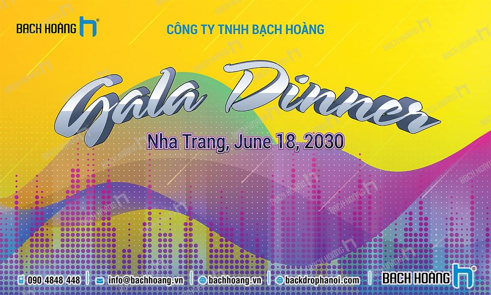 Mẫu backdrop phông Gala Dinner, Team Building đẹp nhất 69