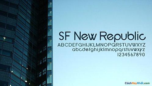 Font Sfnewrepublic Download Free