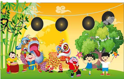 Tết Trung Thu Mid-Autumn Festival Vector Corel CDR 62