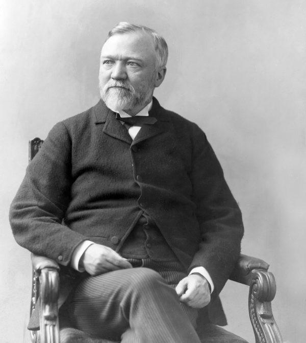 3. Andrew Carnegie Tài sản ròng (2019): ~ $ 310 tỷ
