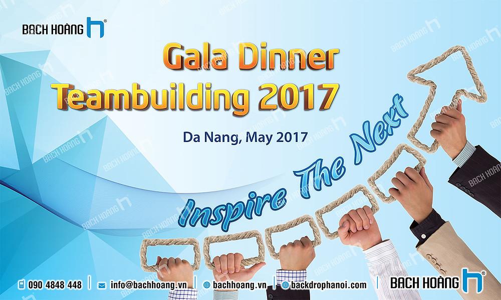 Mẫu backdrop phông Gala Dinner, Team Building đẹp nhất 42