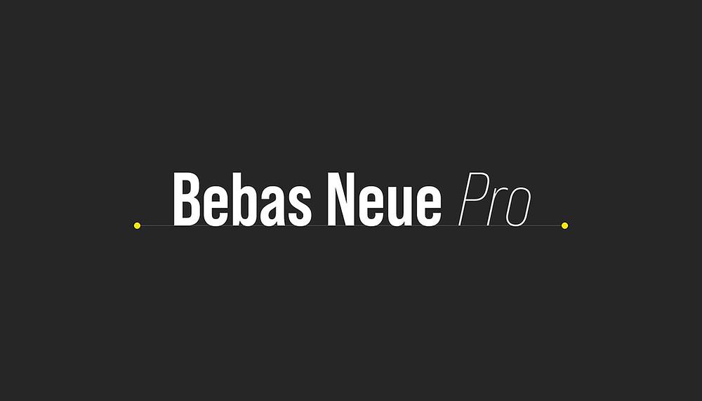 Font Chữ Bebas Neue Pro Family