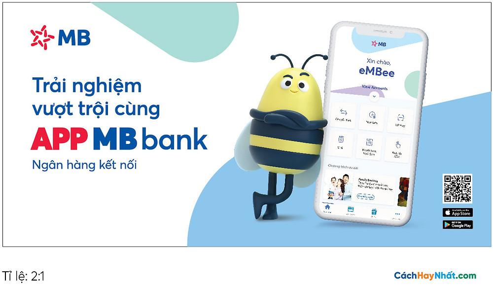 Pano Quảng Cáo Tấm lớn App MBBank file Vector tỉ lệ 2-1
