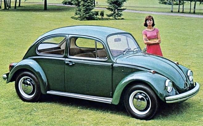 4. Volkswagen Beetle