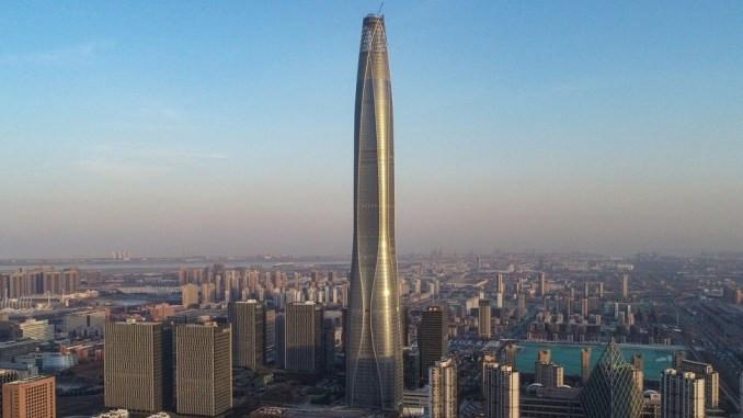 8. Tianjin CTF Finance Centre