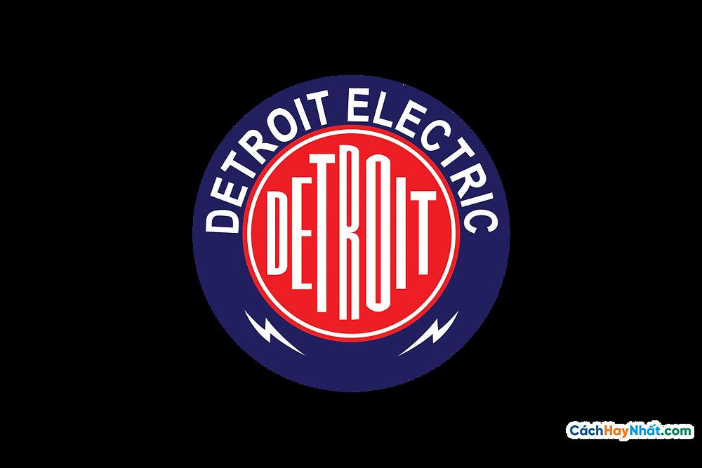 Logo Detroit Electric PNG