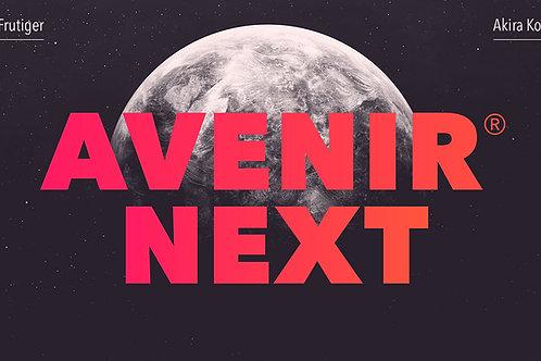 Download Font Avenir Next Pro Full Free