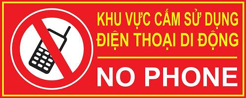 Prohibited Areas Of Mobile Phone Use - Khu Vực Cấm Sử Dụng Điện Thoại