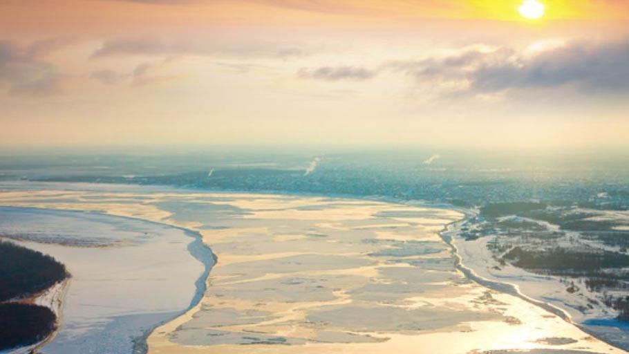 Sông Ob Irtysh - 5,410 km
