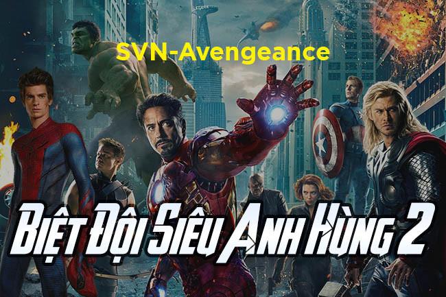 Font SVN-Avengeance Việt Hóa