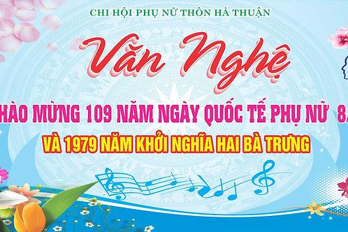 Phông Nền Background Ngày Phụ Nữ Việt Nam 20/10 Vector Corel CDR 22