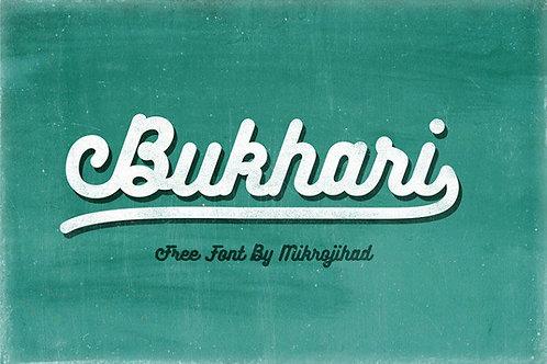 Download Phông Chữ Calligraphy - Bukhari Script Font