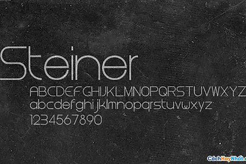 Font Steiner Download Free