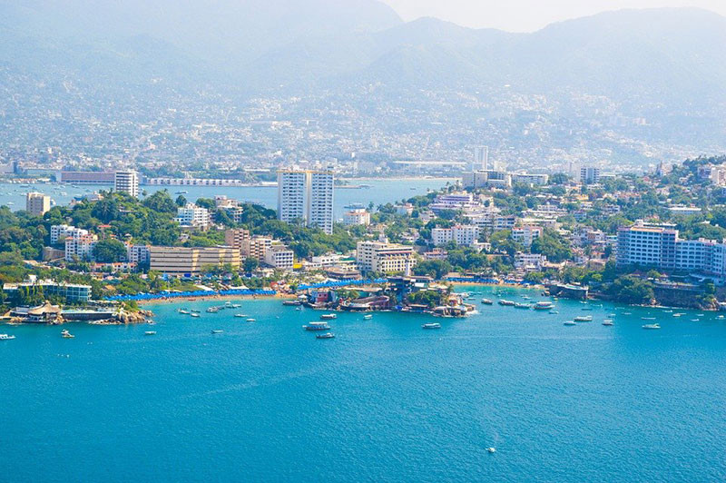 Quang cảnh quận Las Playas của Acapulco, Mexico