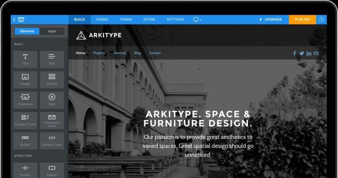 Công cụ tạo trang Web hàng đầu