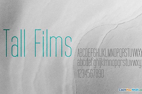 Font Tall-Films Download Free