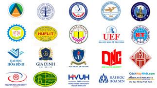 Tổng Hợp Logo Trường Đại Tư Thục Vector CDR AI PDF PNG JPG Part09