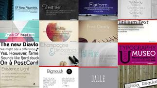 30 phông chữ đẹp cho thiết kế tối giản của bạn